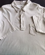 Tommy Bahama Tan Relax Mens Polo Shirt Sz L - $15.00