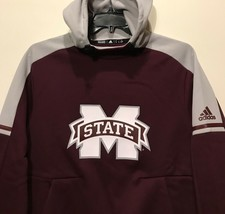 New Mississippi State Bulldogs adidas Men's Hoodie Hooded Sweatshirt Size Small - $23.99