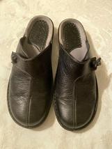 Clarks Artisan Womens 8 M Isolde Black Leather Sandals - $20.00