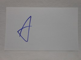 Scott Walker SIGNED 3x5 index card AUTOGRAPHED Wisconsion Governor GOP - $29.65