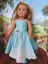 "homemade 18"" american girl/madame alexander evening dress doll clothes - $17.82"