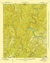 Cove Creek Gap North Carolina Quad - USGS 1935 - 23 x 28.83 - $36.95+