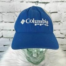 Columbia PFG Mens One Sz Hat Blue Mesh Stretch Back Performance Fishing ... - $18.80