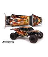 AMR RC GRAPHIC DECAL STICKER KIT TRAXXAS JCONCEPTS SHORT COURSE BAJR - F... - $29.65