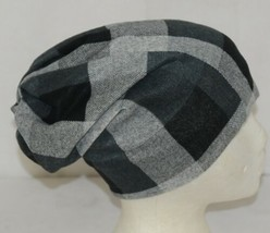 Howards Arianna Collection Buffalo Plaid Convertible Hat Adult Grays image 2