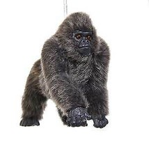 Furry Gorilla Ornament w - $16.99