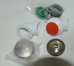 Watco 901 PP PVC BN Brushed Nickel Innovator Push Pull Half Kit image 2