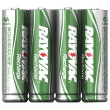RAYOVAC LD715-4OPB Ready-to-Use NiMH Rechargeable Batteries (AA; 1,350mA... - $25.95