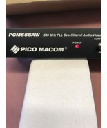 Pico Macom PCM55SAW CHANNEL 4 550 MHz PLL Saw-Filtered Audio/Video Modul... - $56.05