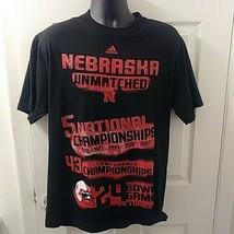 7835f726e Nebraska Cornhuskers Men  39 s Adidas national championship tee double  sided L -  15.44 · Add to cart · View similar items
