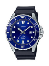 Casio Men's Diver Inspired Black Resin Strap Watch - $67.90