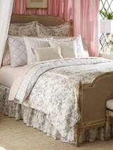 Ralph Lauren SAINTE HONORE 4P Full Queen duvet cover Shams Pillow Set $845+ - $379.95