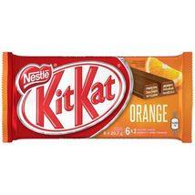 Nestle Kit Kat Orange Chocolate Bar Canadian 2 Fingers x 6 x 10 packs C... - $69.99