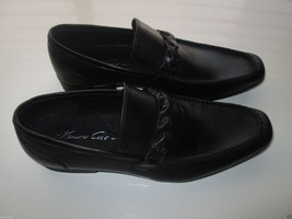 Kenneth Cole New York VICTORY SPEECH LE Men's Loafer Shoes Black 8M $138 - $66.49