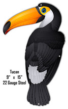 Toucan Animal Wall Art Laser Cut Out Metal Sign 9x15 - $23.76