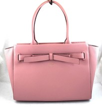 AUTHENTIC NEW NWT KATE SPADE $428 LEATHER JOLEY AVALON PLACE PINK TOTE W... - ₨13,810.78 INR