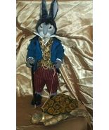 """Mr. Hare and His Tortoise"" PDF Digital Download E-Pattern By Suzette Ru... - $14.50"