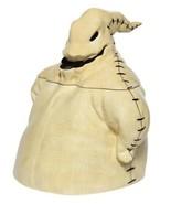 The Nightmare Before Christmas Oogie Boogie Sculpted Ceramic Cookie Jar NEW - $67.72