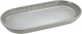 Le Creuset Dish Neo of long Plate 25 cm Mist Gray Heat Resistant 500g - $49.51