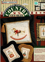 DAISY KINGDOM No-Sew Fabric Applique Country Cut-Outs 19128 Rocking Horse, Bear - $3.96