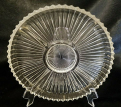 Vintage Indiana Glass 260 Clear 5-part Relish Dish - $18.00