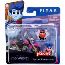 Disney Pixar Onward Sprites & Motorcycle Mini Figure - $6.92