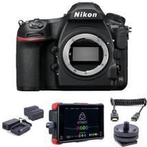 "Nikon D850 DSLR Camera w/ Atomos Ninja Flame 7"" Monitor Recorder Bundle - $4,207.32"