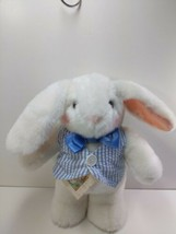 Hallmark Uncle E the Easter Bunny Card Tag 12 inch T Plush Doll Stuffed ... - $25.47
