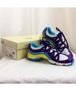 Bloch Wave Multi-Purple Fitness Sneakers SO523L, Womens Size 4 Nib - $24.92