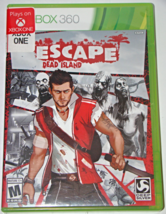 XBOX 360 - ESCAPE DEAD ISLAND (Complete with Manual) - $6.75