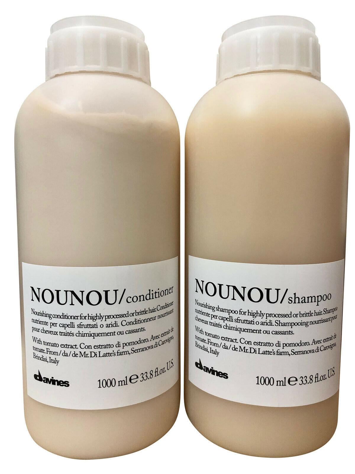 Davines Nounou Nourishing Shampoo & Conditioner Set 33.8 OZ - $190.11