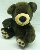"""The Petting Zoo CUTE BROWN TEDDY BEAR 7"""" Plush STUFFED ANIMAL Toy - $15.35"""