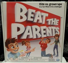 Beat The Parents Family Fun Filled Trivia Challenge NEW SEALED Kids vs G... - $14.84