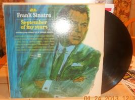 Frank Sinatra September Of My Years Reprise F1014 33RPM LP Record Vinyl - $11.14