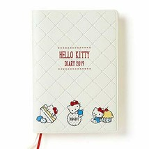 Hello Kitty 2019 Schedule Book Diary A6 Weekly Block Sa From japan - $56.10