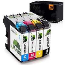 JARBO Compatible Ink Cartridges Replacement for Brother LC203 LC203XL, 1... - $21.15