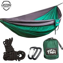 TNH Outdoors #1 Premium Double Camping Hammock Premium Quality Hammock -... - $35.15