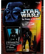 Star Wars ~ Power of the Force   *TIE FIGHTER PILOT*   NIP - $4.99