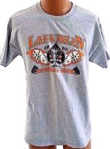 Laughlin Nevada Motorcycle Biker T-shirt Mens SZ L Spring Run 2003 Gray ... - $12.60