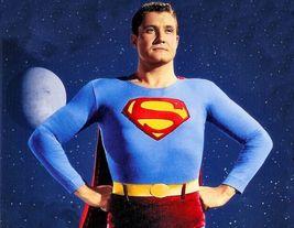 Superman P George Reeve CTK Vintage 11X14 Matted Color TV Memorabilia Ph... - $12.99