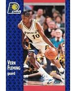Vern Fleming ~ 1991-92 Fleer #81 ~ Pacers - $0.05