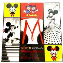 The Art of Walt Disney's Mickey Mouse and Minnie Mouse 2 Books plus Posters - $31.89