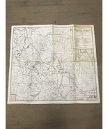 1965 Mammoth Map Inyo Forest Area California Map By US Department Of Agr... - $18.00
