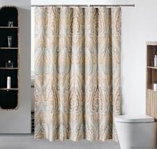 Fyjafon Polyeste Bathroom Shower Curtain Waterproof Moldproof Polyester Bath Cur - $37.75