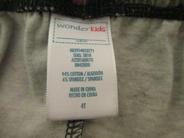 Toddler girls camo leggings w/ pink peace signs Size 4T by Wonder Kids  MJES254 - $8.60