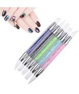 Gel Nail Art Brushes,LilyAngel Silicone Head Carving Pen Pencil Tool Set... - $25.92