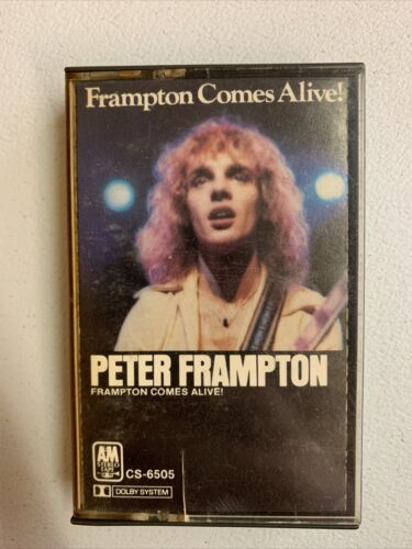 Primary image for Peter Frampton Comes Alive Cassette Tape Show Me the Way Do We Feel Like We Do