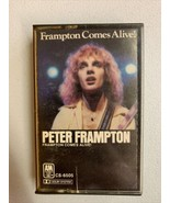 Peter Frampton Comes Alive Cassette Tape Show Me the Way Do We Feel Like... - $9.49