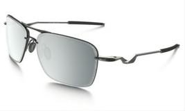 Oakley Tailback Sunglasses Lead Chrome Iridium OO4109-04 Brand New Authe... - $138.58