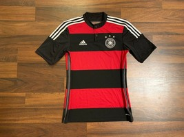 Germany National Football Team Away Shirt Soccer Jersey 2014 2015 S Adidas  - $50.61